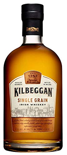Kilbeggan Single Grain Irish Whiskey - 1 x 0.7 l