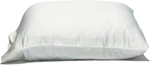 Gravity Sleep Oversize Pillow Case by King Size Extra Large. Fits Even The Fluffiest Pillows including The Pancake Pillow. Sleeve Style. Extra Tall Pillowcase. Luxury 100% Cotton. 300 Thread Count.