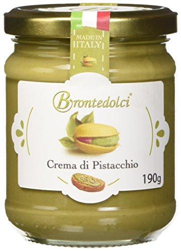 Crema di Pistacchio con il 40% di pistacchi di Sicilia, ideale per la colazione, ma soprattutto per farcire dolci - 190g