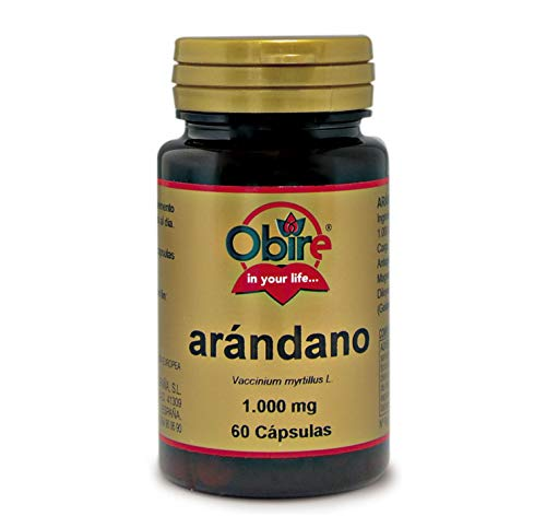 Arándano 1000 mg. 60 capsulas