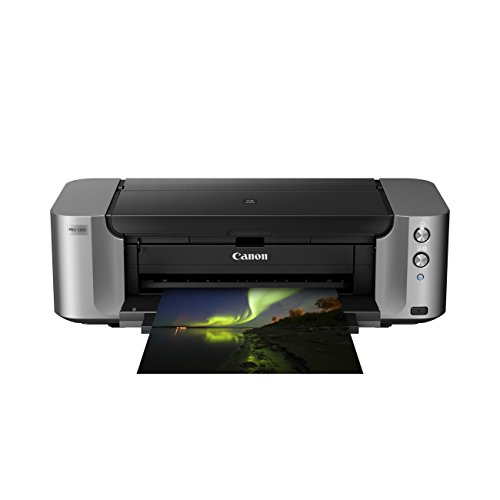 Canon PIXMA PRO-100S printer (4800 x 2400 dpi, USB 2.0, ethernet, wifi) grijs