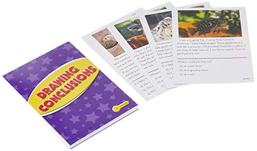 Edupress Reading Comprehension Practice Cards, Drawing Conclusions, Yellow Level (EP62988)