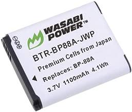 Wasabi Power Battery for Samsung BP88A, EA-BP88A and Samsung DV200, DV300, DV300F
