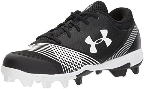 Under Armour Women's Glyde RM Softball Shoe, Black (011)/Black, 8