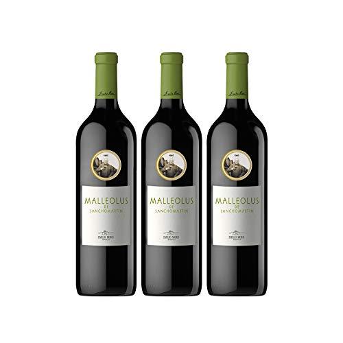 Emilio Moro - Malleolus de Sanchomartín, Vino Tinto, Tempranillo, Ribera del Duero, 3 x 750 ml