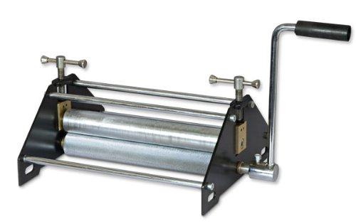 Prensa básica de grabado de acero para impresión en bloques, grabado e impresión monotipo, tamaño 9.8 pulgadas de largo x 12.4 pulgadas de ancho x 6.7 pulgadas de alto