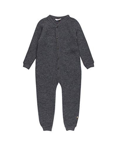 joha Niños bebé mono de tejido de rizo Forro Polar rienda) (Talla 56–104 Holzkohle 68
