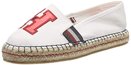 Tommy Hilfiger TH Patch Espadrille, Alpargata para Mujer