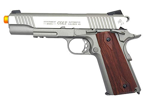 KWC 1007237 Colt 1911 Rail Pistol Co2 Full Metal Blowback - Tan