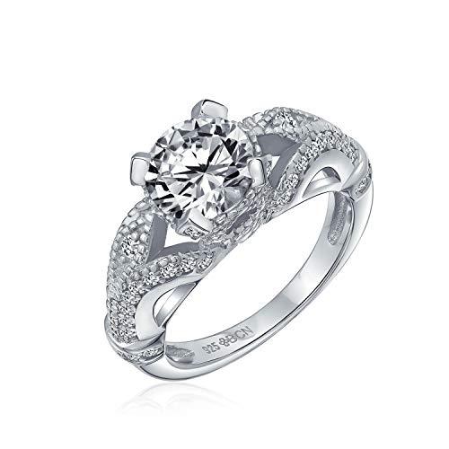 anillos de compromiso estilo antiguo