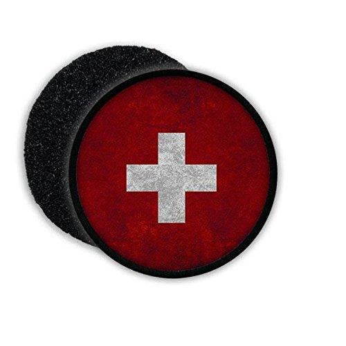 Copytec Patch Schweiz Switzerland Suisse Deutsch Franzsösich Bern Schweizerische Eidgenossenschaft Flagge Fahne Flag Abzeichen Wappen Aufnäher Emblem #20807