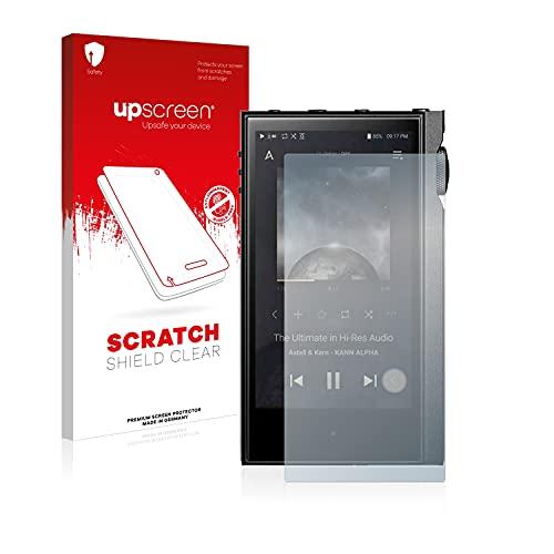 upscreen Protector Pantalla Compatible con Astell&Kern Kann Alpha Película Protectora – Transparente, Anti-Huellas