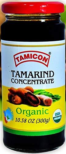 (New Pack) Tamicon USDA Organic Tamarind Paste - 300 grams (10.58 oz)