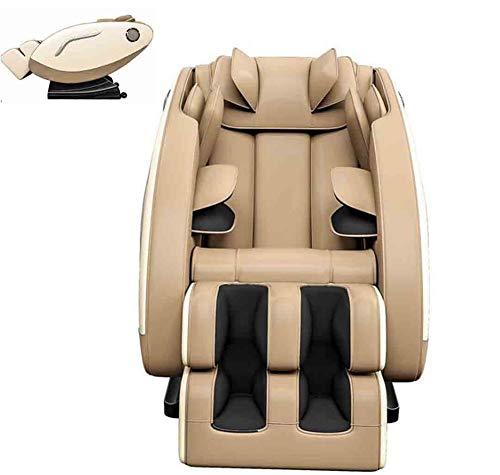 CSPFAIZA Elektrisch Massagesessel Elektrisches Sofa mit Wärmefunktion und Bluetooth-Lautsprecher, Chiptreiber - 3 Farben Erhältlich,Cream