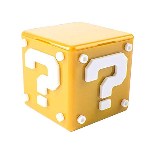 YTGOOD spel-opslag voor Nintendo Switch, voor Nintendo Switch Game Case, accessoires, voor 8 speelkaarten, 4 TF-kaarten, Geel.
