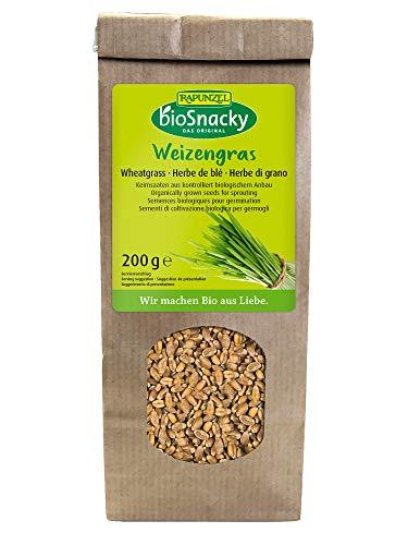 Rapunzel BioSnacky Keimsaat Weizengras, 200 g