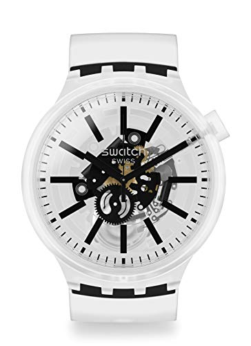 Swatch Big Bold Armbanduhr Blackinjelly SO27E101