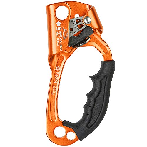 Lixada Handsteigklemme Outdoor Hand Ascender Klettern Ausrüstung 8-12mm