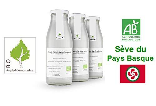 SEVE DE BOULEAU Bio 6 bouteilles à 7,80 € l'unité qualité du Pays Basque