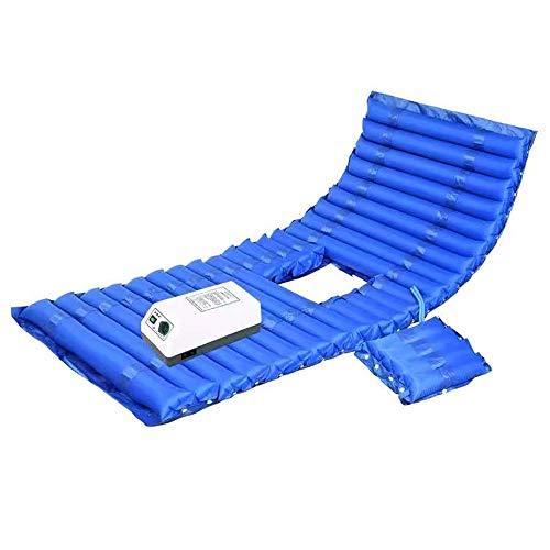 NOSSON Anti-Dekubitus-Matratze, Wechseldruckmatratze aufblasbare Bett-Luft für Dekubitus und Dekubitus Relief fördert Blut-Zirkulation