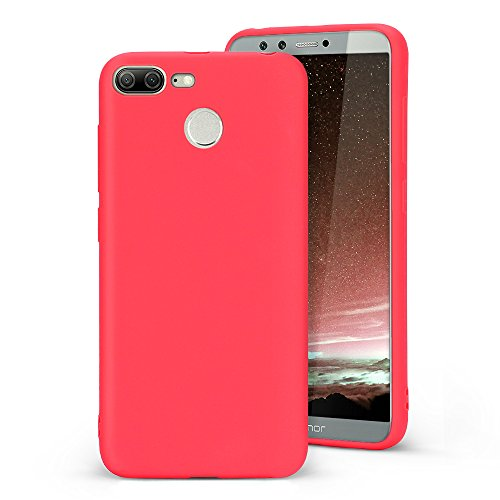 Mosoris Coque Huawei Honor 9 Lite Silicone Ultra Fine TPU Case Flexible et Souple Silicone Etui Premium Anti-Rayures Anti-Choc Housse de Protection po