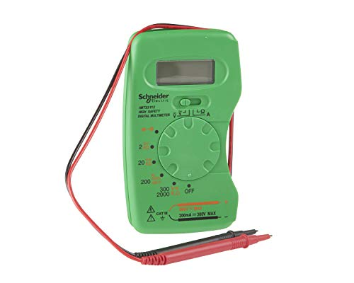Schneider Electric IMT23112Thorsman Cat 3multimetro digitale tascabile, 300V, verde/grigio