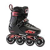 Rollerblade Apex Adjustable Fitness Inline Skate, Black, Junior, Urban Performance Inline Skates