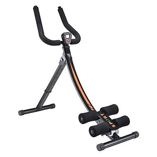 ZJZ Workout Machine Back & Ab Trainer Höhenverstellbar, Easy Folding System, Faltbare Hyperextension, Home Trainer