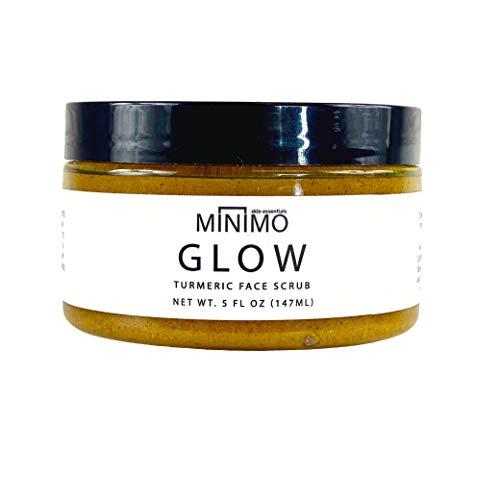 Minimo Bath & Body Glow Citrus Peach Curcuma peau éclaircissant Gommage du visage