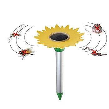 Repeller ultrasonique Solaire extérieur de Serpent de Parasite pour la Souris/Mole/Serpent/Campagnol