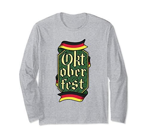 Deutschland Oktoberfest! Volksfest Bayern Langarmshirt