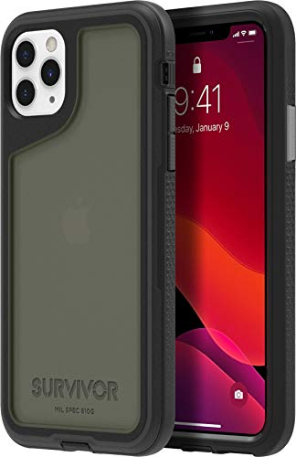 Griffin Technology Funda Survivor Extreme para iPhone 11 Pro MAX Negra/Transparente
