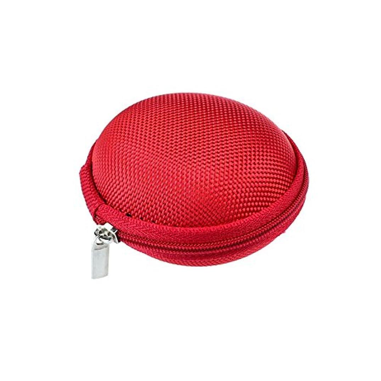 Charberry 2019 Mini Zipper Earphone Headphone SD Card Storage Bag Box Carrying Pouch (B)