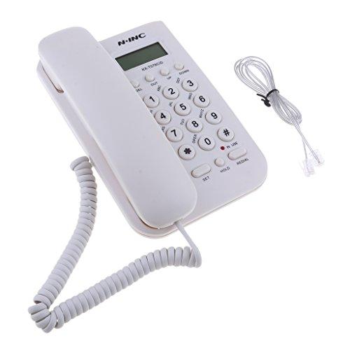 #N/A - Soporte de pared para teléfono y oficina, color blanco