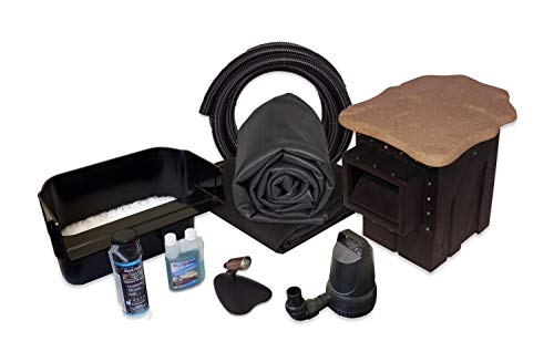 HALF OFF PONDS Simply Ponds 2100 Water Garden and Pond Kit with 15 Foot x 20 Foot EPDM Liner