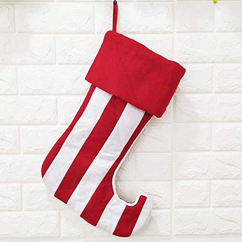 Hcxbb-11 6 stuks Kerstmis panty panty Kerstmis sokken grote elf sokken