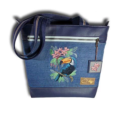 Handtasche Damen Businesstasche Uni-Tasche Shopper Umhängetasche Schultertasche Schuhtasche
