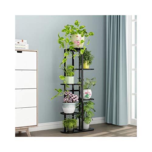 QUD meerlagige bloemenplank, plantenstandaard voor bloempot, op de vloer staande multifunctionele bloemenstandaard woonkamer balkon zonnescherm staat 20/4/3