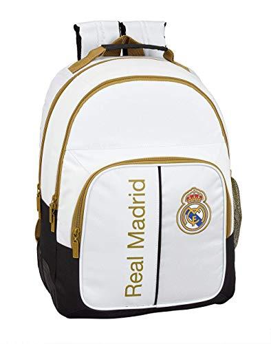 Real Madrid CF Zaino Doppio con Angoli Adattabile al Carrello
