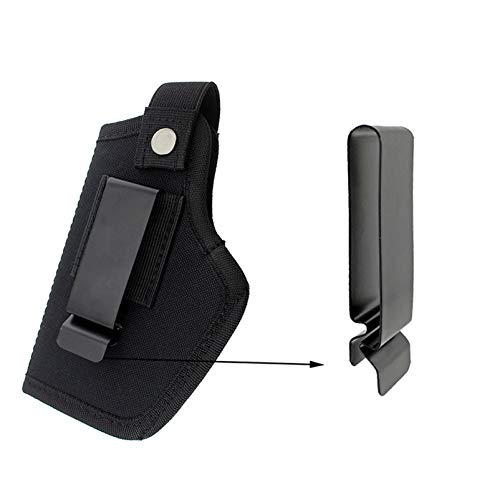 N  A Universal Holster Magazine Pouch Gun Concealed Carry IWB OWB Right Left Holster Fits Ruger S&W M&P Shield/Glock 26 27 29 30 33 42 43 / Springfield XD XDS & All Similar Handguns