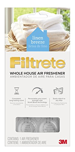 Filtrete Whole House Air Freshener, Linen Breeze