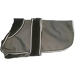 2 In 1 Grey / Black Dog Coat 30cm 12 Makes a loverly gift idea Unique to Danish design , The 2-in-1 Dog Coat is The first convertible for dogs Good quality item With its removable Polar Fleece liner , This coat is superb for both The winter and warme...