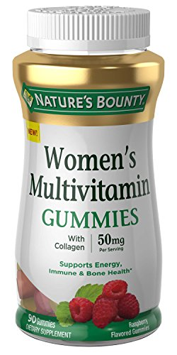 Women Multivitamin by Nature's Bounty, Vitamin Supplements for Adults, Fruit Flavored, 90 Gummies