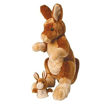 Douglas Toys Hopster Kangaroo & Joey by Douglas Cuddle Toys