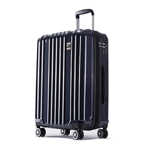 スーツケース 機内持ち込み SS 中型 M 大型 L サイズ 軽量 ファスナー TSAロック搭載 キャリーバッグ AKTIVA (小型、機内持込み、SS, ガンメタル)