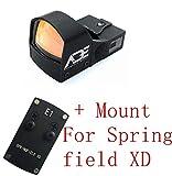 Ade Advanced Optics Compact RD3-009 Red Dot Reflex Sight for Springfield XD Pistol