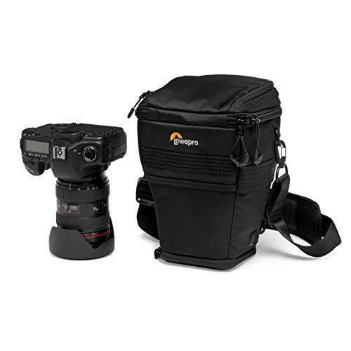Lowepro ProTactic TLZ 70 AW Toploader per Reflex per Obiettivi fino a 24-70 mm f/2.8, Paraluce e Battery Grip, Divisione Attrezzatura/Effetti Personali, per Reflex come la Canon 5D, LP37278-PWW