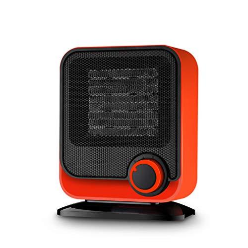 Aoyo Calefactores Mini Calentadores Eléctricos, Calentador de Calefacción de Ventiladores Prácticos Controlados Portátiles de Escritorio de Hogar de Invierno (220V, 1300W)