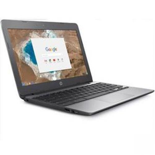 HP Refurbished Laptop Intel Celeron N3060 Dual-core 4GB Memory 16GB SSD Color Silver Chromebook Model X7T66UAR#ABA