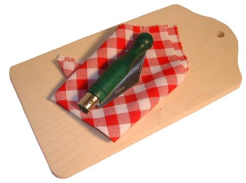 Frühstücksbrettl mit Feitl - Taschenmesser